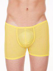 La Intimo Men Yellow Trunks LIBO005YW1