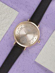 DressBerry Women Rose Gold Embellished Analogue Watch MFB-PN-SNT-E02