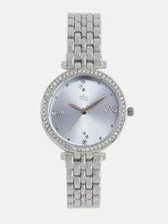 DressBerry Women Blue Embellished Analogue Watch MFB-PN-SNT-E16