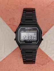 DressBerry Women Black Digital Watch MFB-PN-SKM-1123