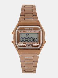 DressBerry Women Brown Digital Watch MFB-PN-SKM-1123