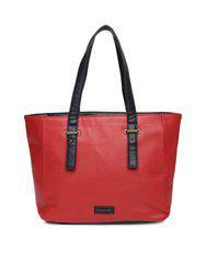 Fastrack Red Solid Shoulder Bag