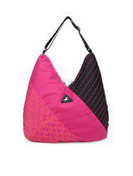 Fastrack Pink & Black Colourblocked Shoulder Bag