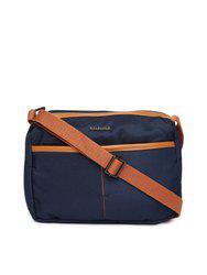 Fastrack Blue Solid Sling Bag
