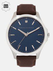 Armani Exchange Men Navy Blue Analogue Watch AX2181