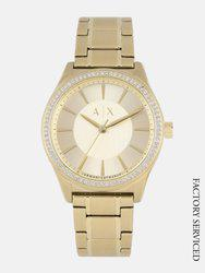 Armani Exchange Women Gold-Toned Analogue Watch AX5441I_Factory_Service_Watch