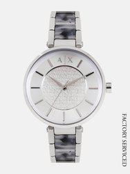 Armani Exchange Women Silver-Toned Analogue Watch AX5319I_Factory_Service_Watch