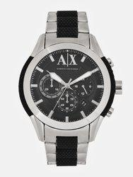 Armani Exchange Men Black Analogue Watch AX1214