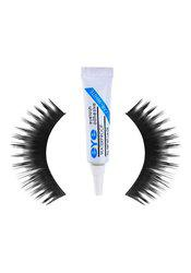 Thick Hair Waterproof Eye Lashes Mink Collection With Eyelash Clear White Glue