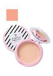 Simply Pretty Shine no More SPF 14 Pressed Powder 11g  Pink Blush