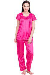 Lesuzaki Rani Pink Night Suit For women's