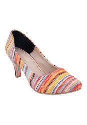 Fadrin Yellow Stilettos Heels