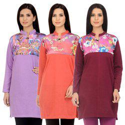 Kritika's Multi colored Woollen Kurti
