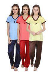 Lesuzaki nightwear combo for women