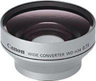Canon WD-H34 Wide Angle Lens for The Optura 50/60 & Elura 80/85/90 Camcorders