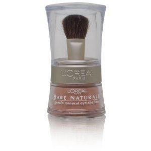 L'Oreal Bare Naturale Gentle Mineral Eye Shadow with Brush - # 406 - Bare Gold by L'Oreal Paris