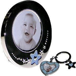Gund Picture Frame and Keychain