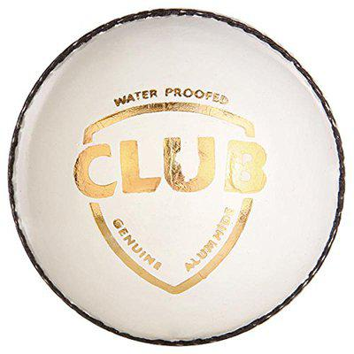 SG Club Leather Balls, Pack of 12 (White)
