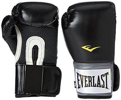 Everlast Pro Style Boxing Training Gloves (Black, 16 oz.)