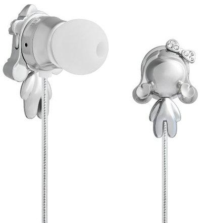 Monster Harajuku Lovers Space Age in-Ear Headphones Featuring Interchangeable Gwen Bodies