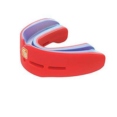 Shock Doctor Nano Double Mouth Guard, RED, Adult