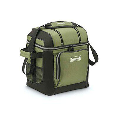 Coleman Soft 30 Cans with Hard Liner Mix Cooler (Green)