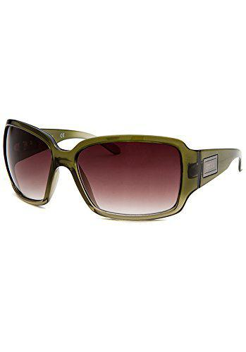 Kenneth Cole Gradient Oval Women's Sunglasses - (KC1086 61 K86|61|Brown Color Lens)