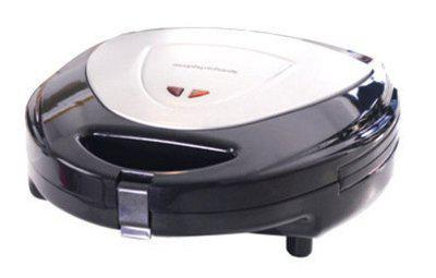 Morphy Richards Toast, Waffle and Grill Sandwich Maker (Silver and Black)