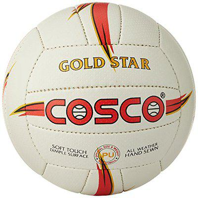Cosco Goldstar Volleyball, Size 4 (White)