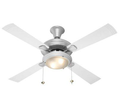 Usha Fontana One 1270mm Ceiling Fan with Decorative Lights (Steel with White Blades)