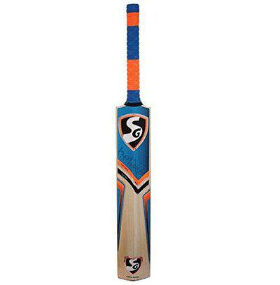 SG Reliant Xtreme English Willow Cricket Bat, Size 6 (Color May Vary)