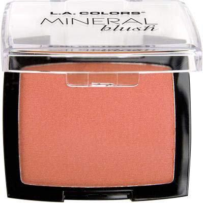 (3 Pack) L.A. COLORS Mineral Blush - Just Peachy