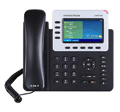 Grandstream Enterprise IP Telephone VoIP Phone and Device (Black)
