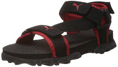 Puma Unisex Photon Jr III Ind Black Sandals and Floaters - 11C UK