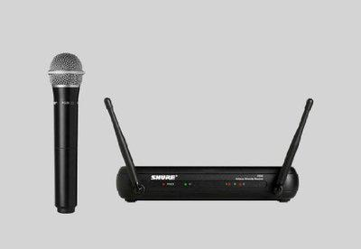 Shure PG28/SVX24 Wireless Microphone with Receiver (Black)