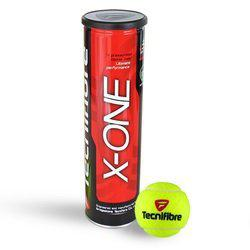 TECNIFIBRE X ONE TENNIS BALLS -( CAN OF 4 BALLS)