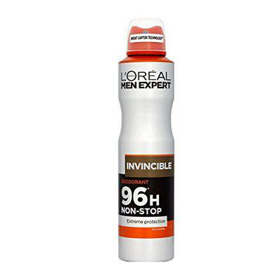 Loreal Men Expert 96H Invincible Non Stop Protection No Alcohol Deodorant 250 Ml With Ayur Soap