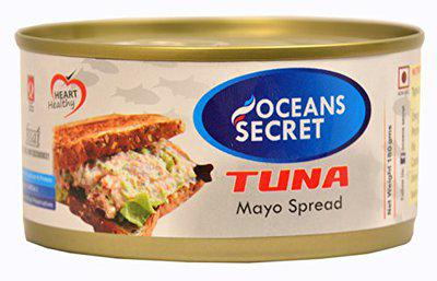 Oceans Secret Canned Tuna in Mayonnaise, 180g   Immunity Booster   Superfood