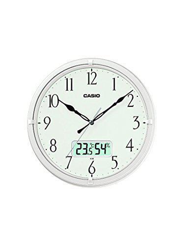 Casio Analog - Digital Wall Clock (IC-02-7DF)
