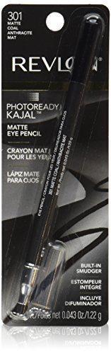 Revlon PhotoReady Kajal Eye Pencil, Matte Coal