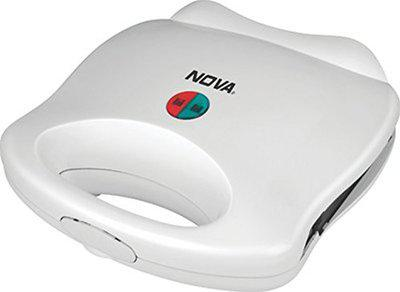 Nova NSM-2412 750-Watt Sandwich Maker (White)