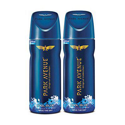 Park Avenue Freshness Deodorant - Cool Blue 100g/130ml) (Pack of 2)7H-PF7A-WV7