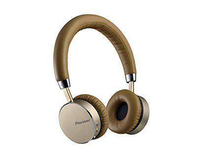 Pioneer Bluetooth-Enabled Wireless Headphone of NFC Featured SE-MJ561BT-T