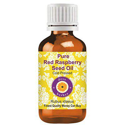 Deve Herbes Pure Red Raspberry Seed Oil (Rubus idaeus) Therapeutic Grade Cold Pressed 15ml