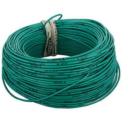 Anchor Insulated Copper PVC Cable 0.75 Sq mm Wire (Green)