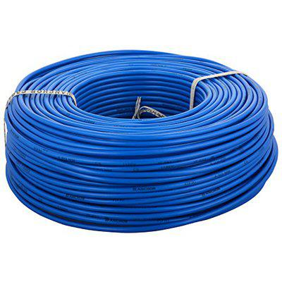Anchor Insulated Copper PVC Cable 4.0 Sq mm Wire (Blue)