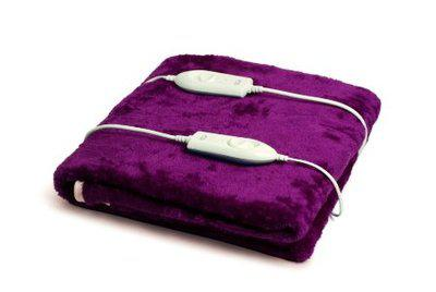 Expressions Super Soft Electric Bed Warmer - Electric Under Blanket - 150cms x 160cms