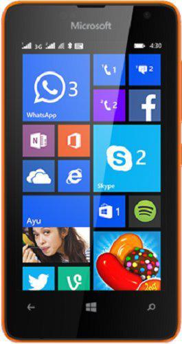 Microsoft Lumia 430 (Orange, Dual SIM)