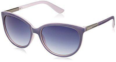 Fastrack Springers Oval Sunglasses (Purple) (P287PR2F)