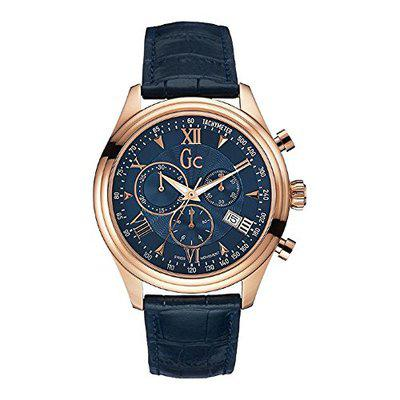 Guess GC Collection Smart Class Mens Watch - Y04008G7_Blue_Free Size
